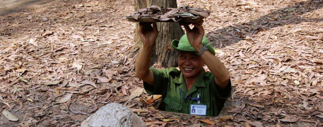 Tour Guide in Chi Chi Tunnels 760x300 640x480 - CU CHI TUNNELS PRIVATE TOUR