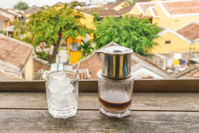 Vietnamese milk coffee in Hoi AN 768x512 1 640x480 - HUE STREET FOOD TOUR